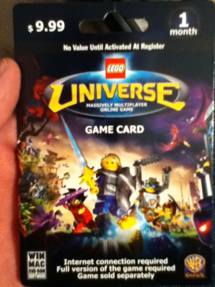LEGO Universe Game