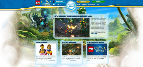 Chima Online Open Beta