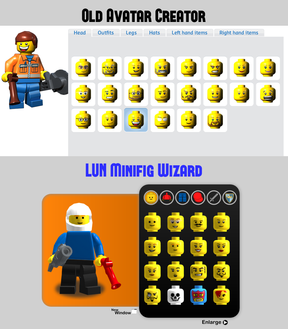 lego avatar creator website