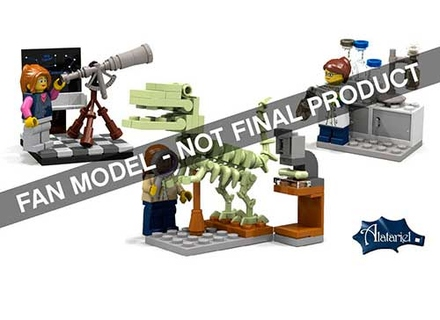 Female minifigures set image