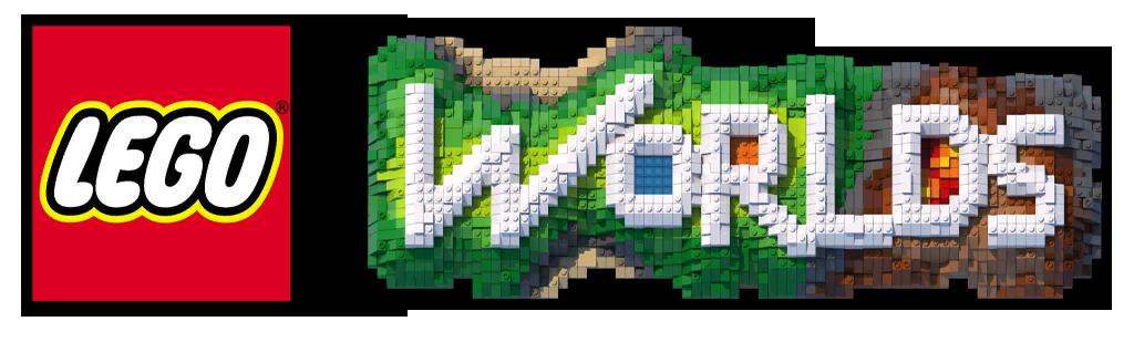 Resultado de imagem para lego worlds logo png
