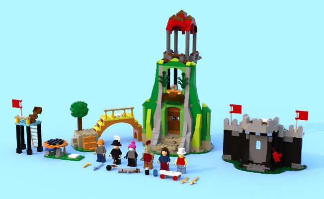 LEGO roblox crossroads2